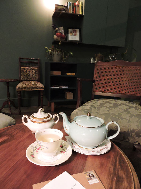 Porcelain Tea Parlour tea and post