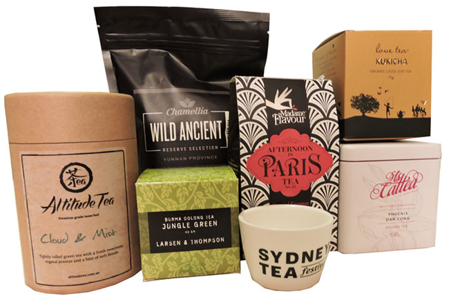 Sydney Tea Festival 2015 haul