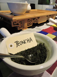 Korean tea jeoncha