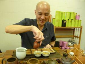 Michael Teo Enjoy Tea Singapore