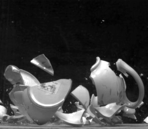 Fragments (Teapot) by David Cushway