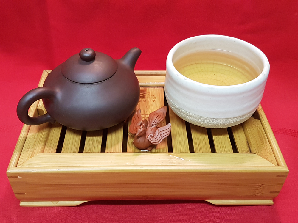bai ji guan white cockscomb tea Year of the Rooster