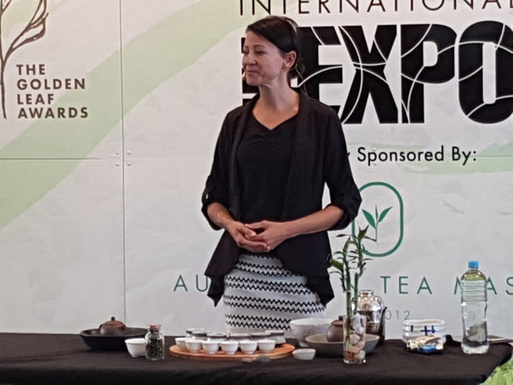 Mandy Suess Sensado Tea Preparation Australasian Tea Masters Cup 2017