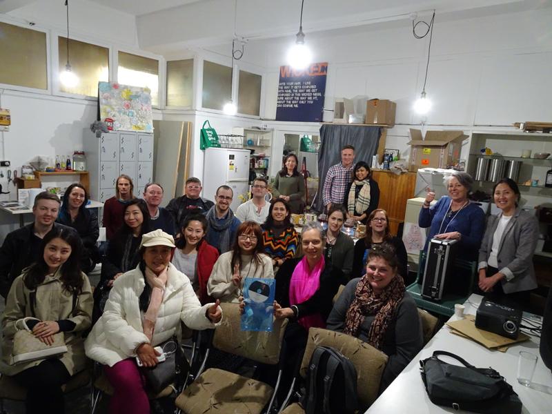 Audience for The Tea Explorer documentary