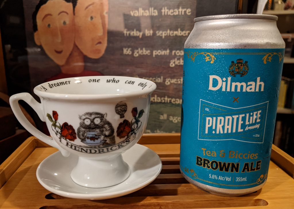 Dilmah Pirate Life tea beer